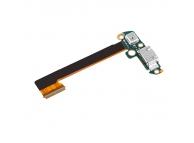 Banda cu conector incarcare / date si microfon HTC One Dual Sim M7