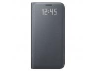 Husa piele Samsung Galaxy S7 G930 LED View EF-NG930PB Blister Originala