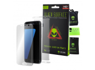 Folie Protectie Fata si Spate Alien Surface pentru Samsung Galaxy S7 Edge G935, Plastic, Full Cover, Blister