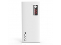 Baterie externa Powerbank 13000mA Doca D566II alba Blister Originala
