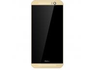Display cu touchscreen si rama HTC One M9 Auriu