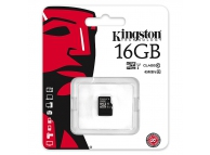 Card memorie Kingston MicroSDHC 16Gb Clasa 10 UHS-I SDC10G2 Fara Adaptor Blister