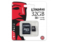 Card memorie Kingston MicroSDHC 32Gb Clasa 10 UHS-1 SDC10G2 Blister