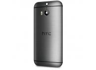 Capac baterie HTC One (M8) gri