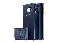 Husa plastic Samsung Galaxy S6 edge+ G928 Keyboard Cover EJ-CG928MB bleumarin Blister Originala