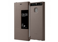 Husa piele Huawei P9 View 51991511 Maro Blister Originala