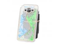 Husa plastic Samsung Galaxy Grand Prime G530 Glitter wave verde