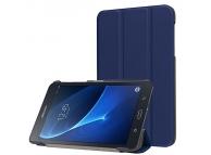 Husa piele Samsung Galaxy Tab A 7.0 (2016) T280 Smart Stand Bleumarin