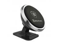 Suport auto Samsung Galaxy J1 Baseus 360 Magnetic negru argintiu Blister Original
