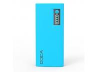 Baterie externa Powerbank 13000mA Doca D566 albastra Blister Originala