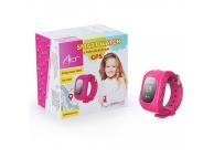 Ceas SmartWatch cu localizare GPS Art AW-K01P roz Blister