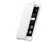 Husa piele Huawei P9 lite alba Blister originala