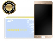 Display cu touchscreen Samsung Galaxy J5 (2016) J510 auriu GH97-18792A