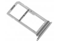 Suport sim si card MicroSD Samsung Galaxy S7 edge G935 Duos argintiu