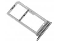 Suport sim si card MicroSD Samsung Galaxy S7 edge G935 Duos gri