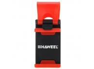 Suport telefon pentru volan Haweel rosu Blister Original