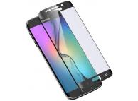 Folie protectie ecran Samsung Galaxy S6 edge G925 Full Face neagra