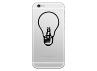 Sticker personalizare Lamp Bulb