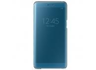 Husa plastic Samsung Galaxy Note7 N930 Clear View EF-ZN930CLEGGWW Albastra Blister Originala