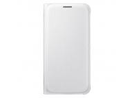 Husa piele Samsung Galaxy S6 G920 EF-WG920PW alba Blister Originala