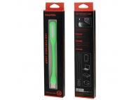Mini lampa LED USB Haweel Verde Blister Originala