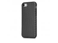 Husa silicon TPU Apple iPhone 7 Rock Carbon Fibre Blister Originala