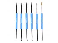 Set instrumente ajutatoare lipire si curatare Pro'sKit DP-3616 6in1 Blister