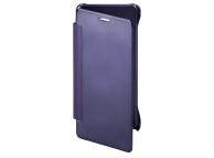 Husa plastic Samsung Galaxy Note7 N930 Clear Book Bleumarin