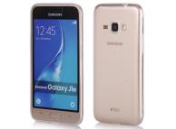 Husa silicon TPU Samsung Galaxy J1 (2016) J120 Ultra Slim Transparenta