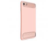Husa silicon TPU Apple iPhone 7 Baseus Angel Roz Blister Originala