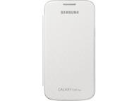 Husa piele Samsung Galaxy Core Plus G3500 EF-FG350NW Alba Blister Originala