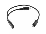 Cablu incarcare MicroUSB - 2 x MicroUSB BlackBerry ASY-18072-002 Original