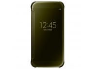 Husa plastic Samsung Galaxy S6 G920 Clear View EF-ZG920BF Aurie Blister Originala