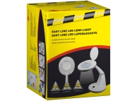 Lampa LED cu lupa FixPoint 77452 alba Blister Originala