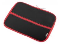 Husa textil laptop 10.2 inci Easy Touch Smiths ET-901 neagra rosie