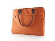 Geanta textil laptop 15.6 inci Modecom Charlton portocalie