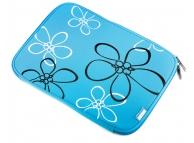 Husa textil laptop 10.2 inci Easy Touch Sleeve bleu