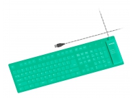 Tastatura flexibila USB Rotech RT-50212 verde