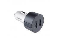 Adaptor auto Dual USB Nillkin Vigor 3.4A Gri Blister Original