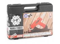Pistol de lipit cu baton de plastic Haka Tools HKR-07-010 portocaliu Blister Original