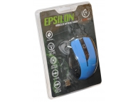Mouse Wireless Rebeltec Epsilon Albastru Blister Original