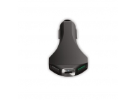 Incarcator auto USB Forever PCC-02, 2 x USB si 1 x USB Type C, Fast Charging