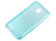 Husa silicon TPU alcatel Pop 2 (5) Premium Bleu Transparenta