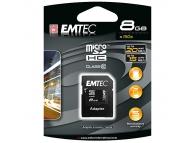 Card memorie Emtec MicroSDHC 8Gb Blister