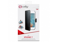Husa piele Apple iPhone 7 Celly WALLY800 Blister Originala