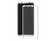 Folie Protectie ecran antisoc Samsung Galaxy S8 G950 Enkay Tempered Glass Full Face 3D Alba Blister Originala