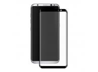 Folie Protectie ecran antisoc Samsung Galaxy S8 G950 Enkay Tempered Glass Full Face 3D Neagra Blister Originala