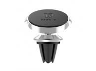 Suport auto universal Baseus Small Ears Magnetic Vent Mount Argintiu Blister Original
