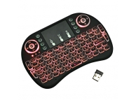 Mini Tastatura Wireless iluminata cu touchpad Blister