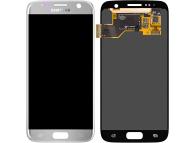 Display - Touchscreen Samsung Galaxy S7 G930, Argintiu GH97-18523B